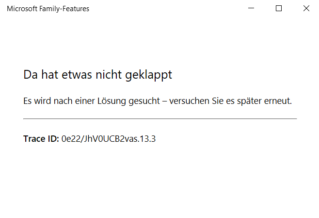 Microsoft Family Features Jugendschutz