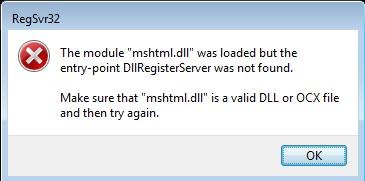 Reregistering BITS modules - Microsoft Community