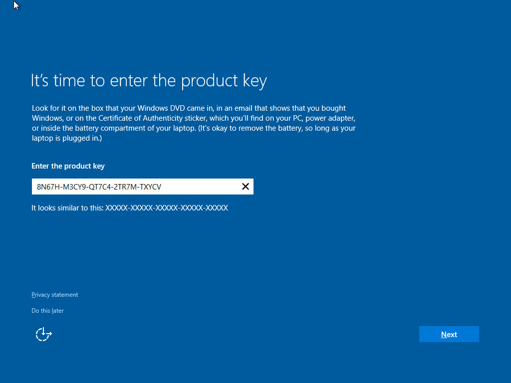 How to install and activate Windows 10 using your Windows ...