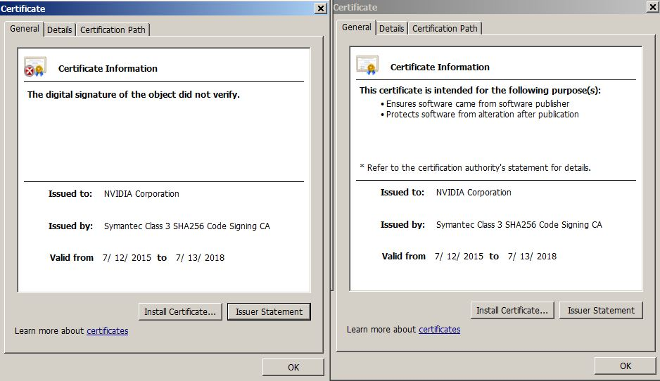 Digital Certificates Not Automatically Being Verified Microsoft