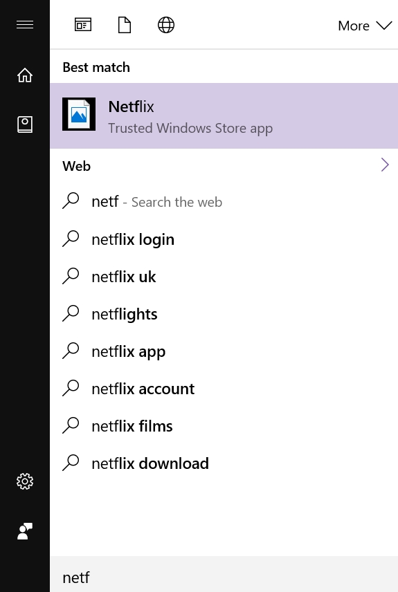 Icon thumbnail of Windows Store Apps not showing when