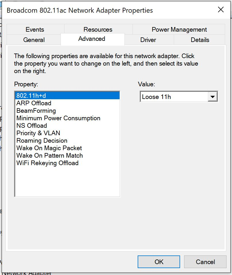 Bluetooth colloboration option missing in Windows 10 on
