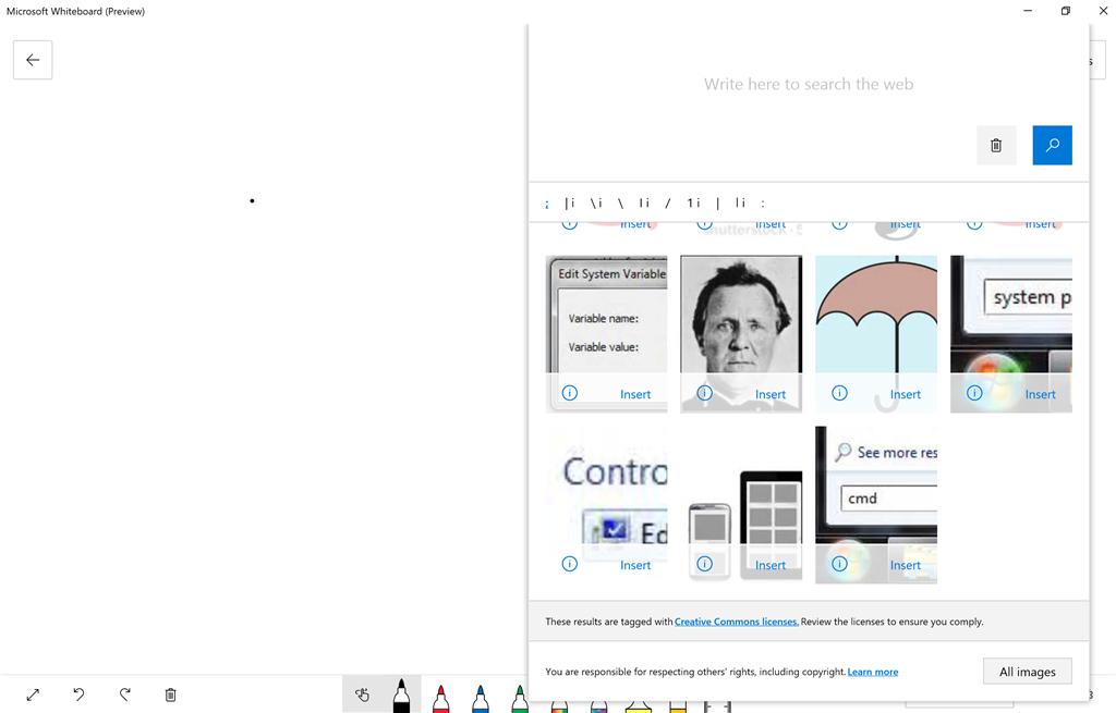 Whiteboard App - Microsoft Community