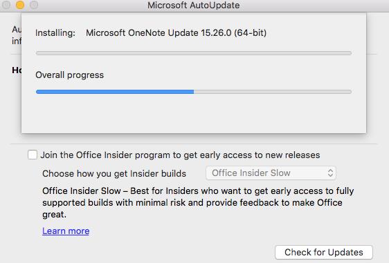 microsoft office for mac update