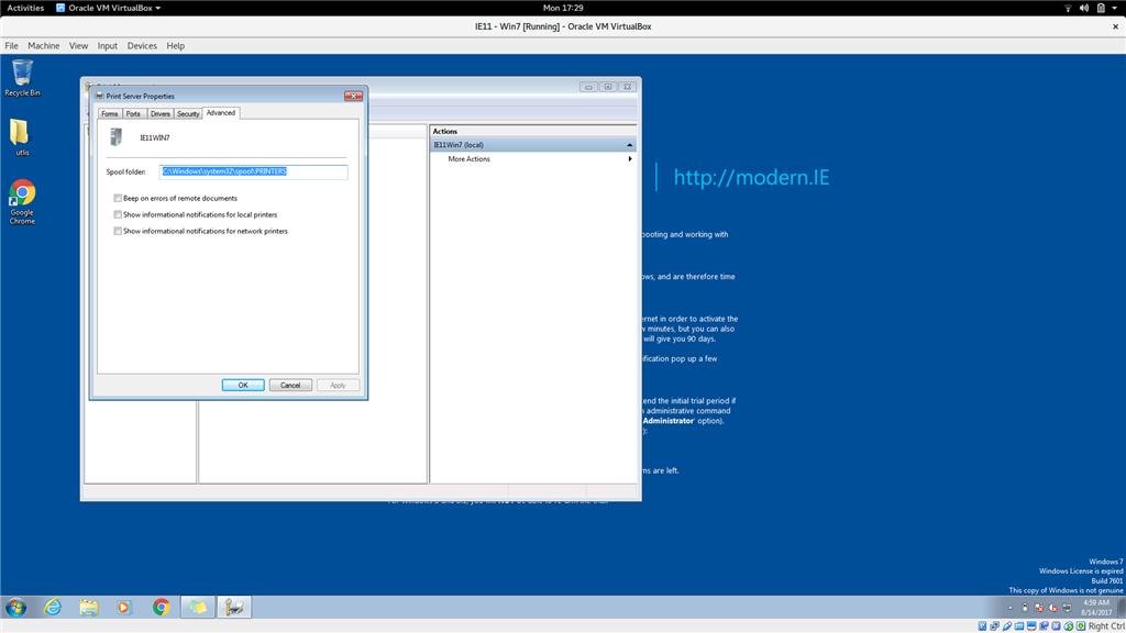disable windows 7 update popup