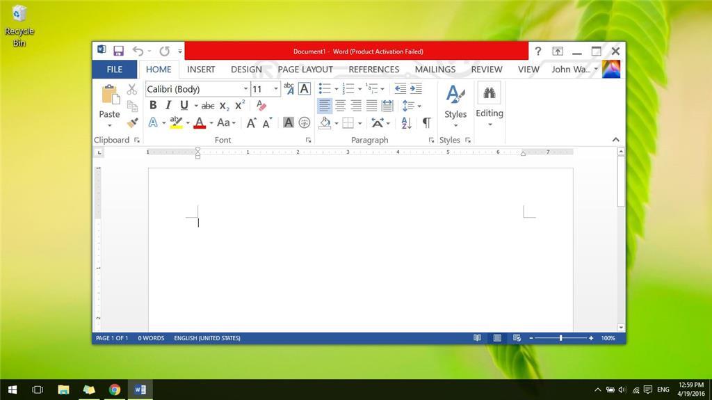 windows 10 make font bigger