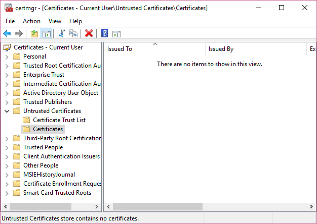 Unblock an untrusted publisher in Windows 10 - Microsoft Community