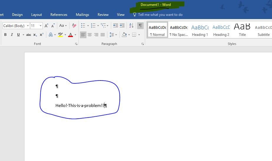 Remove Mark Entry 2016 Office Word Microsoft Community
