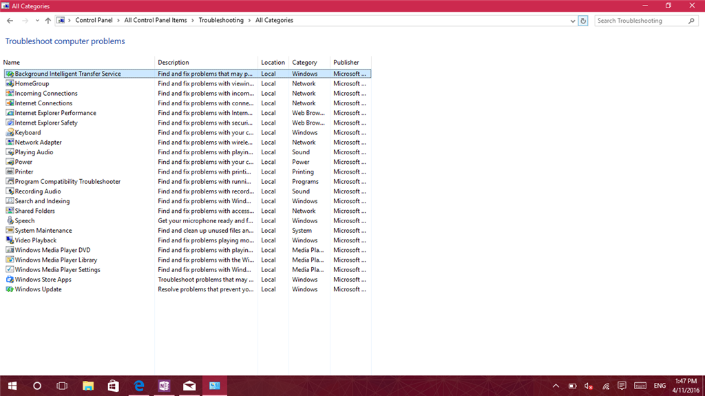 microsoft audio troubleshooter windows 10