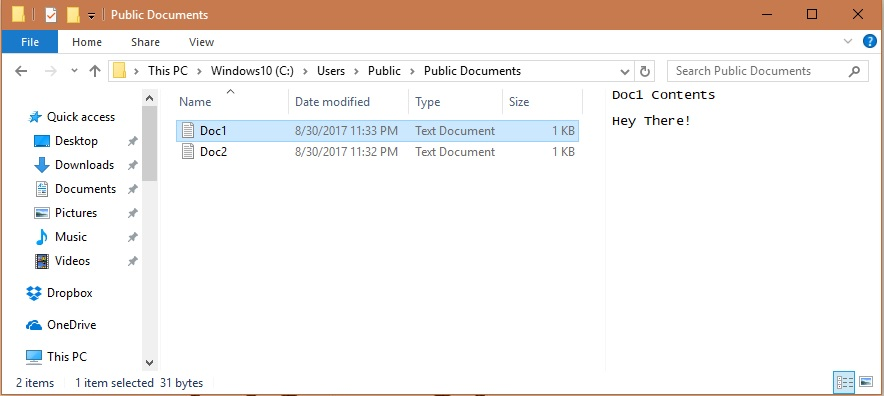 Windows 10 File Explorer Preview pane activation on specific folders