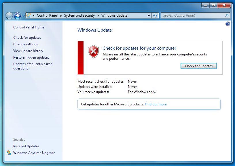 windows 7 windows updates not installing