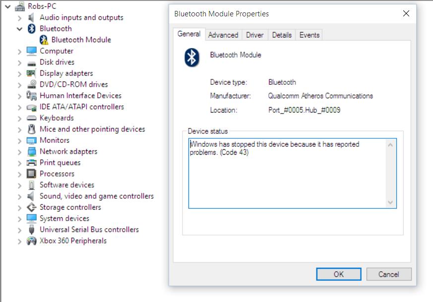 Windows 10 Bluetooth Drivers - Microsoft Community