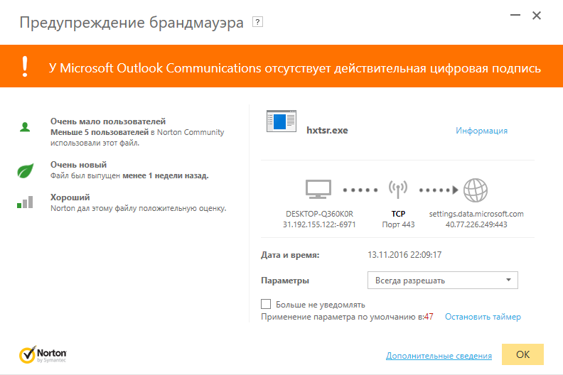microsoft outlook mail does not have a valid digital ...