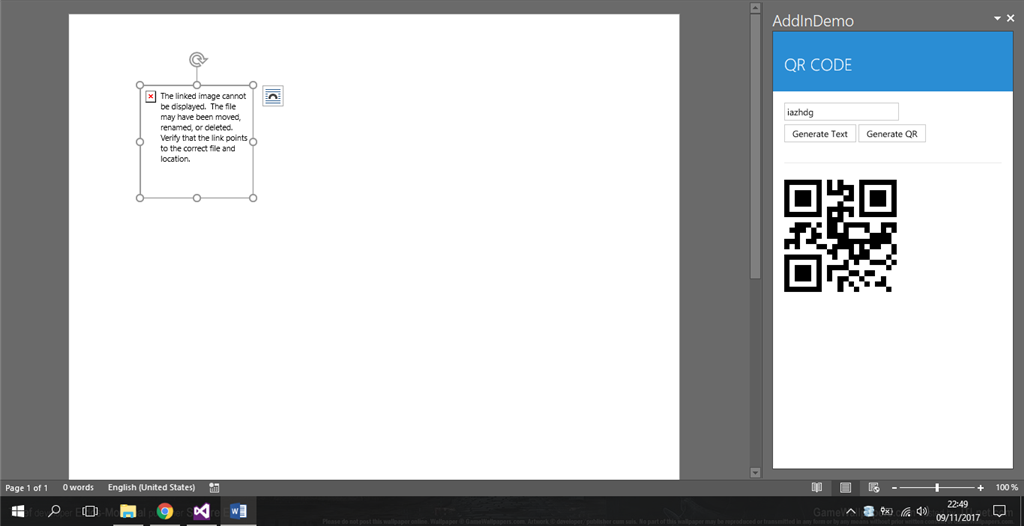 Office-js Add-in development Adding image in Word document