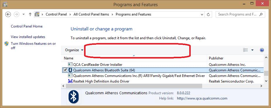 how do i uninstall atheros bluetooth suite? - Microsoft Community