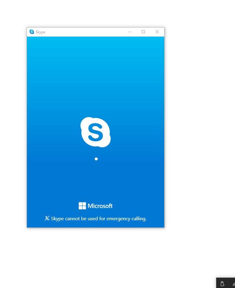 Skype stuck at login screen - Microsoft Community