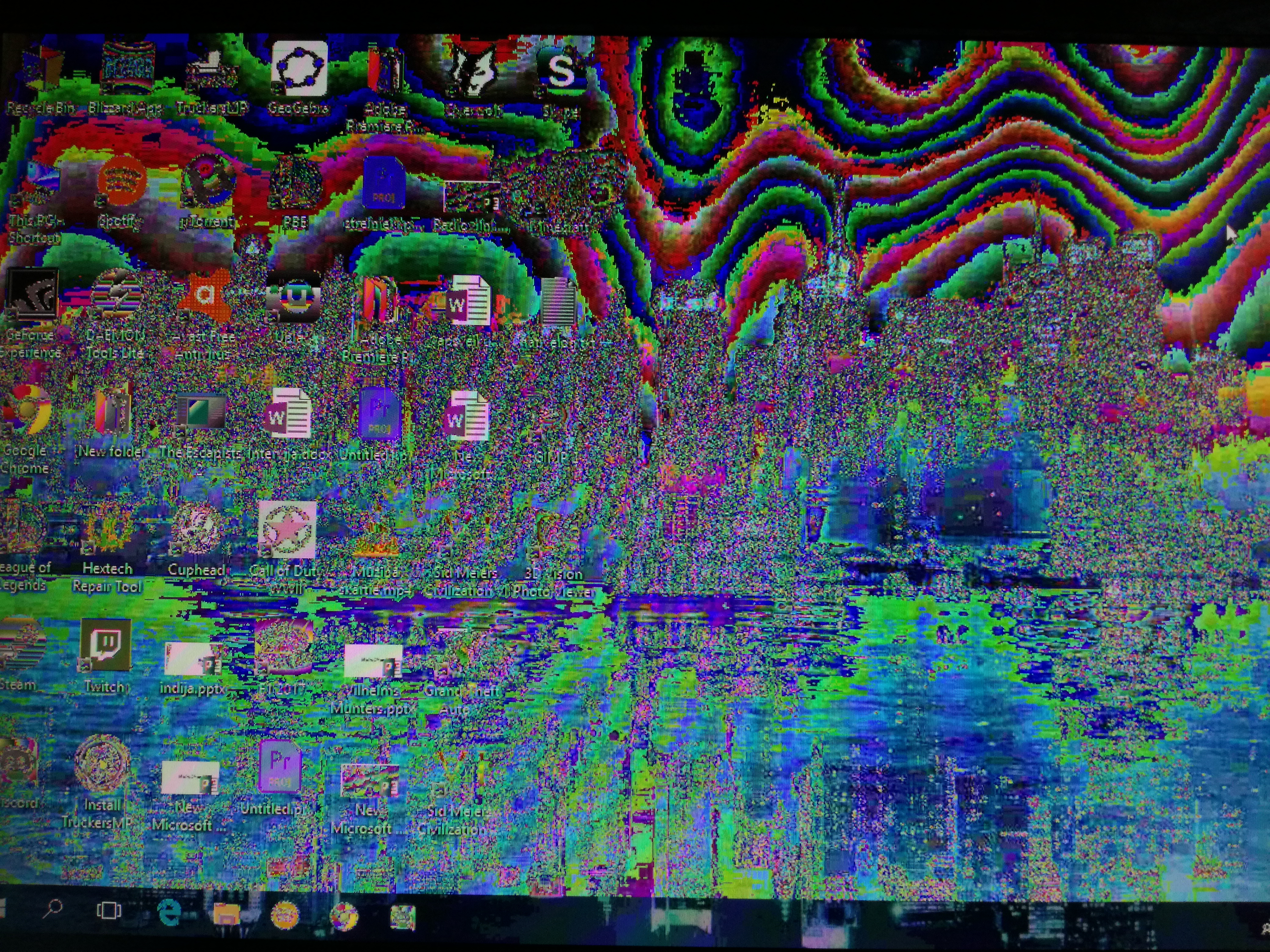 Windows 10 colors messed up after update  - Microsoft Community
