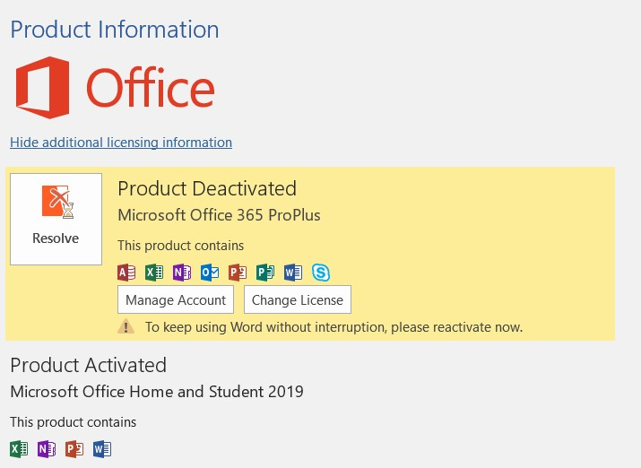 How to remove office 365 ProPlus? - Microsoft Community