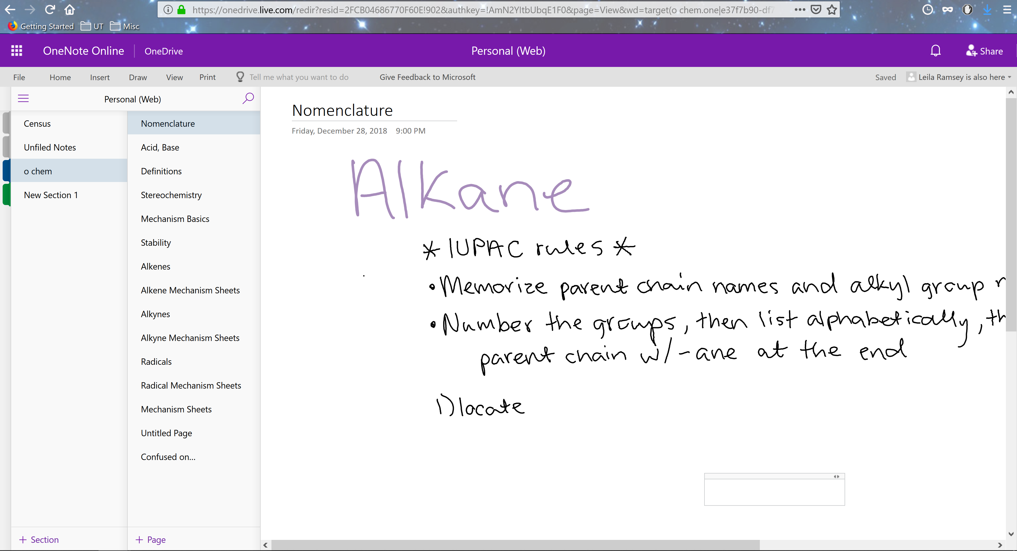 How to access a shared OneNote Notebook from the desktop app