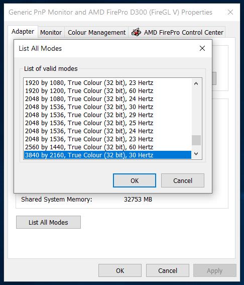 Windows 10 Defaults To 8 Bit Color Depth Automatically Microsoft Community