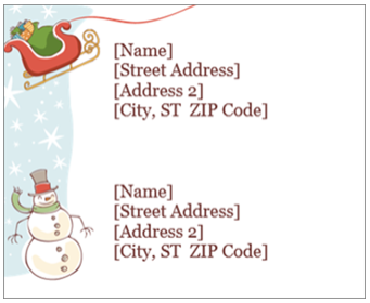 Create christmas and holiday cards labels and more with office do yourself a favor and click the link to learn more solutioingenieria Choice Image