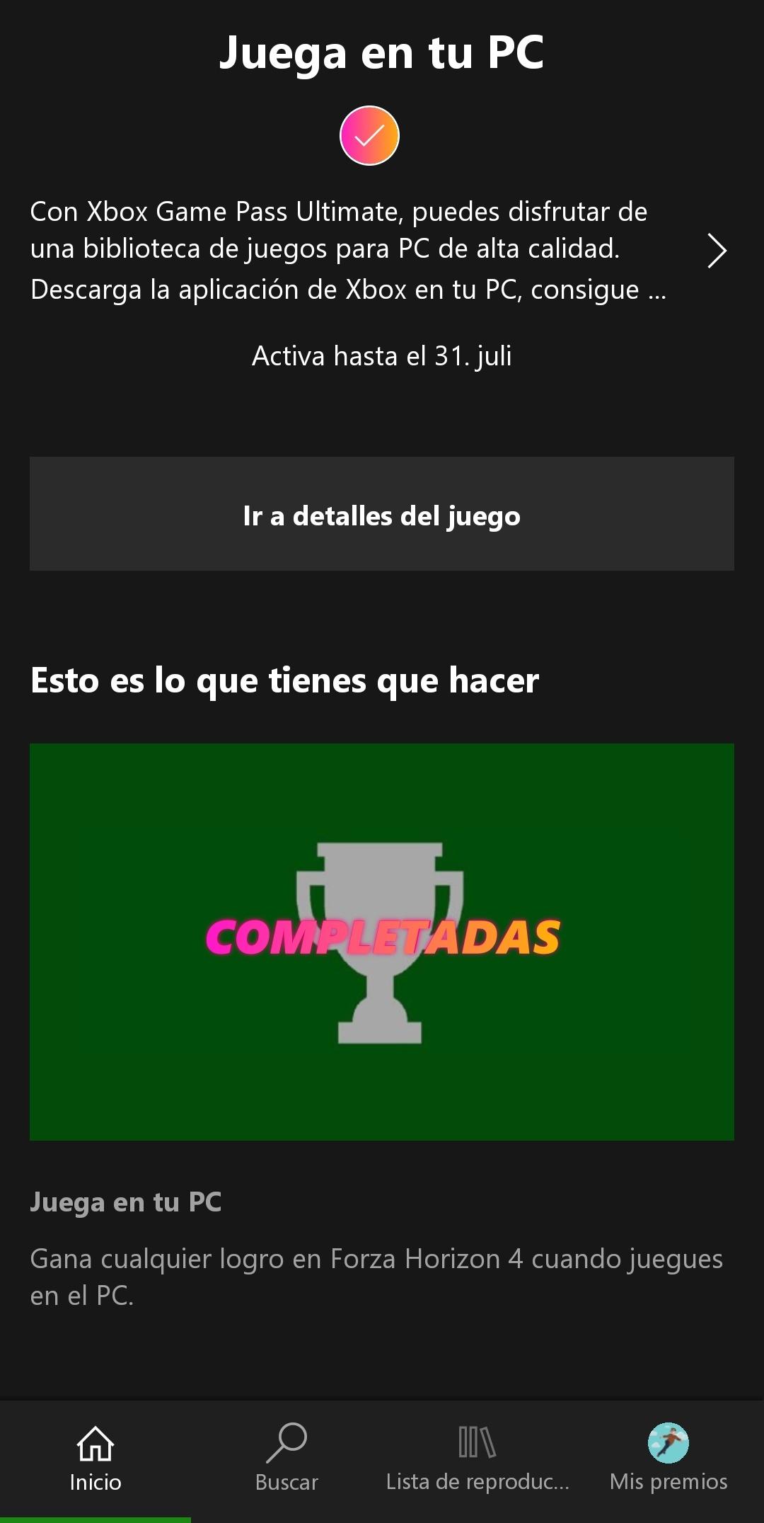 Can't redeem Forza Horizon 4 PC quest reward [IMG]