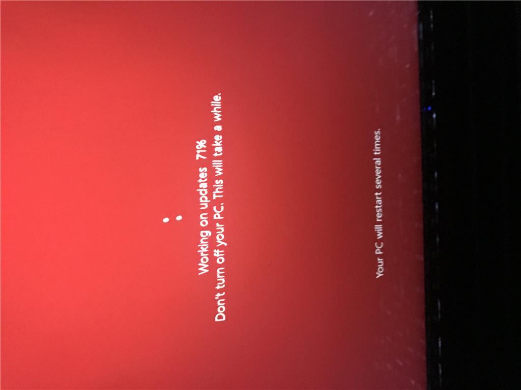 Windows 10 update freeze - Microsoft Community
