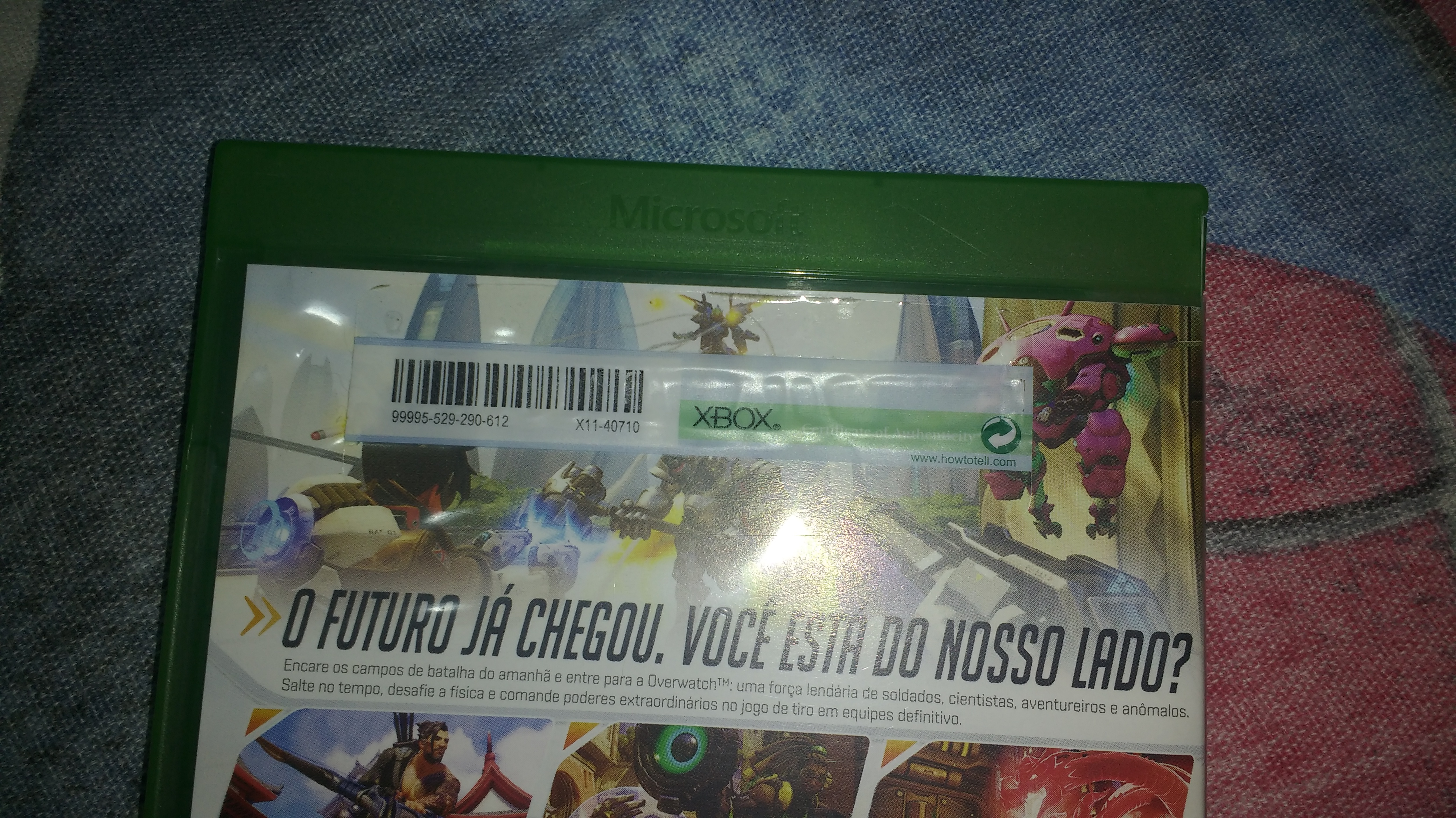 Overwatch: Origins Edition Physical Media Not Recognized by Console [IMG]
