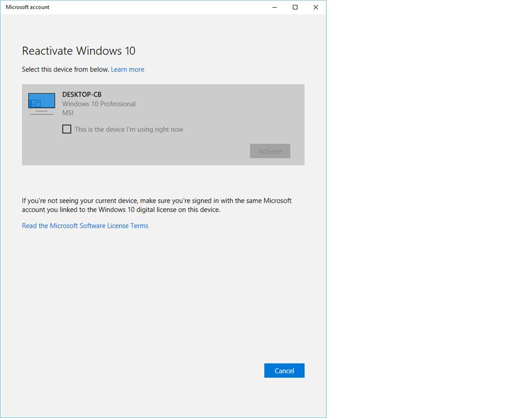 reactivate windows update