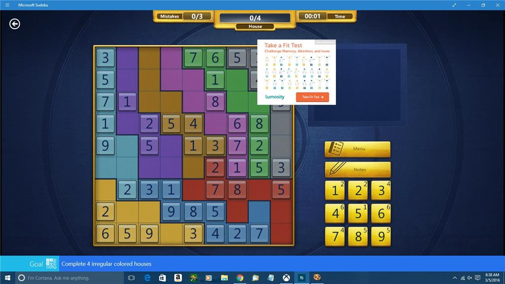 update kb3140743 and microsoft sudoku microsoft community