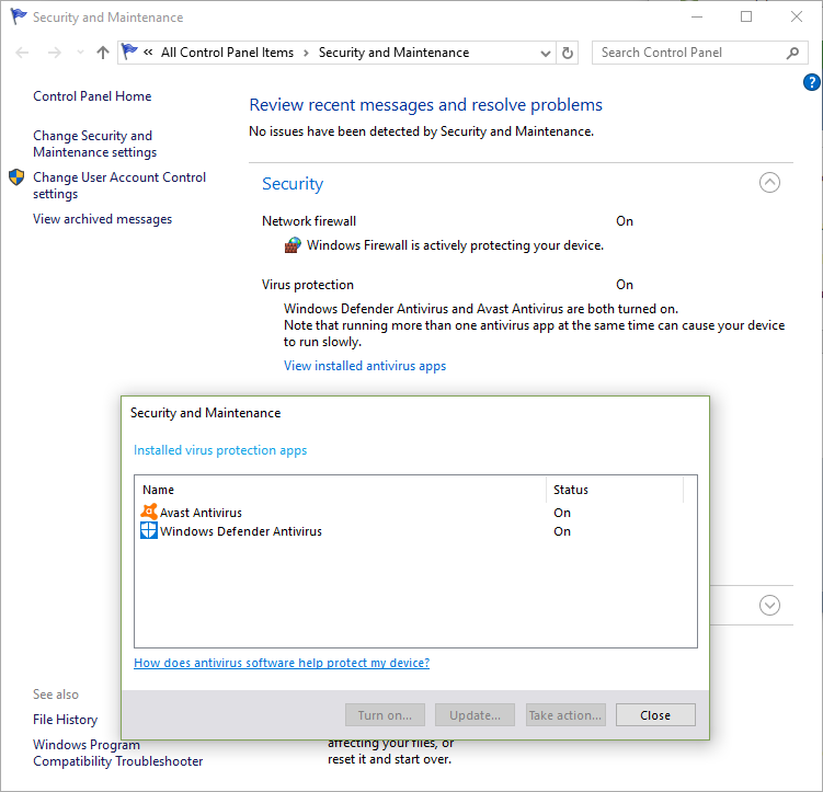 Windows Defender The threat service has stopped - Microsoft
