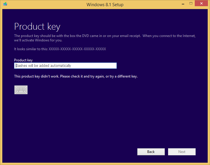 windows 8 os product key