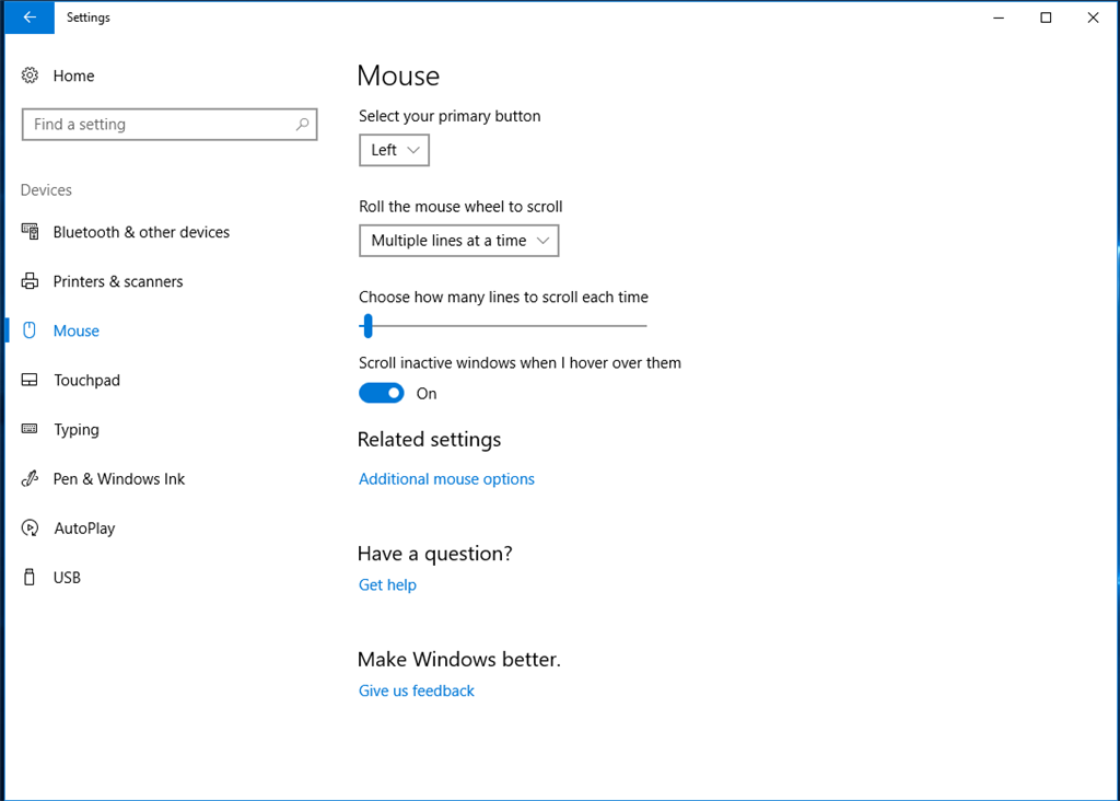 Can't find the click delay setting for Windows 10 installed on - Microsoft  Community