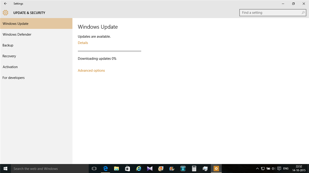 Windows Update Fixit >> Windows 10 Important Updates Download Stuck At 0 Or At 1