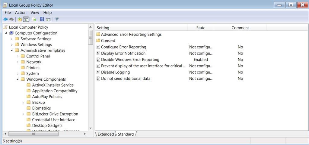 system queued windows error reporting