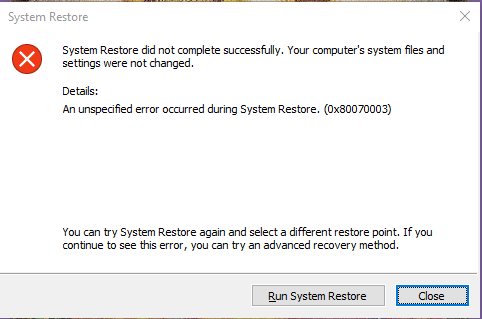 Windows 10 Errors: - Microsoft Community