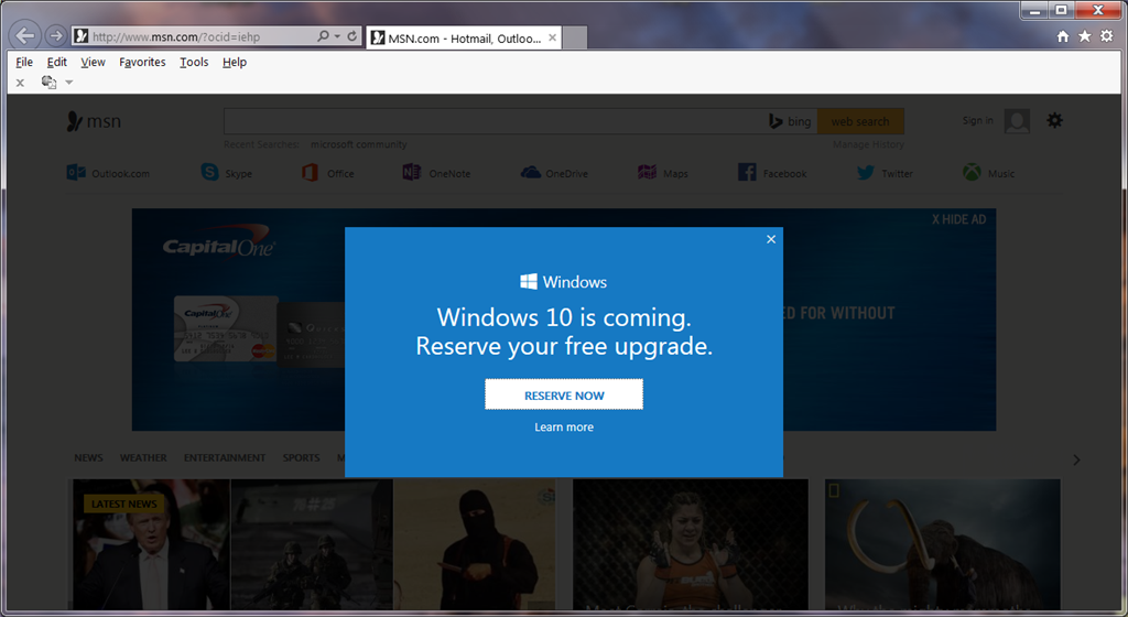 Pop Ups Erlauben Windows 10: Stop Annoying Windows 10 Pop-up In Internet Explorer And