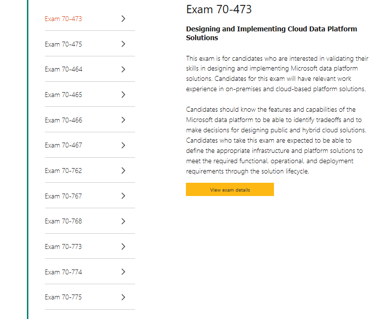 About Acquiring Mcse Certification Of Sql Server Training