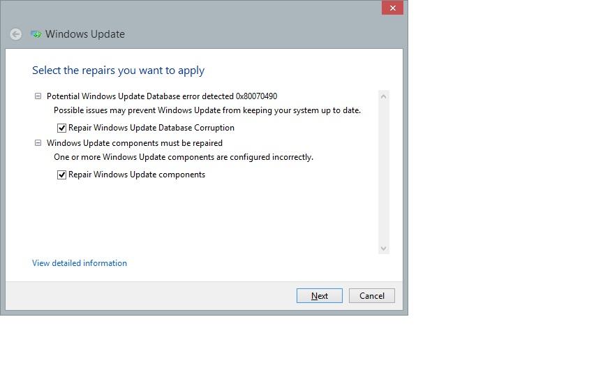 system update readiness tool windows 8.1