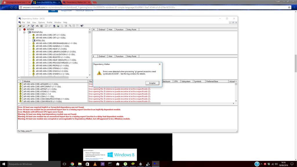 Windows 10 | Error 0xc000007b - Microsoft Community