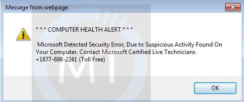Windows 10 - Edge Browser Popup - Virus - Can't Terminate It
