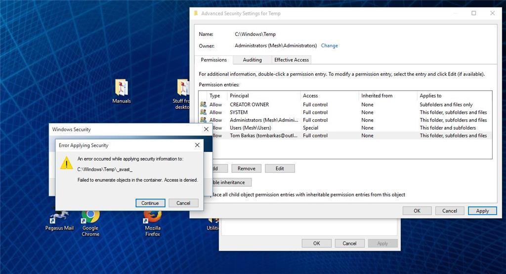 Folder Permissions not working on some folders - Microsoft