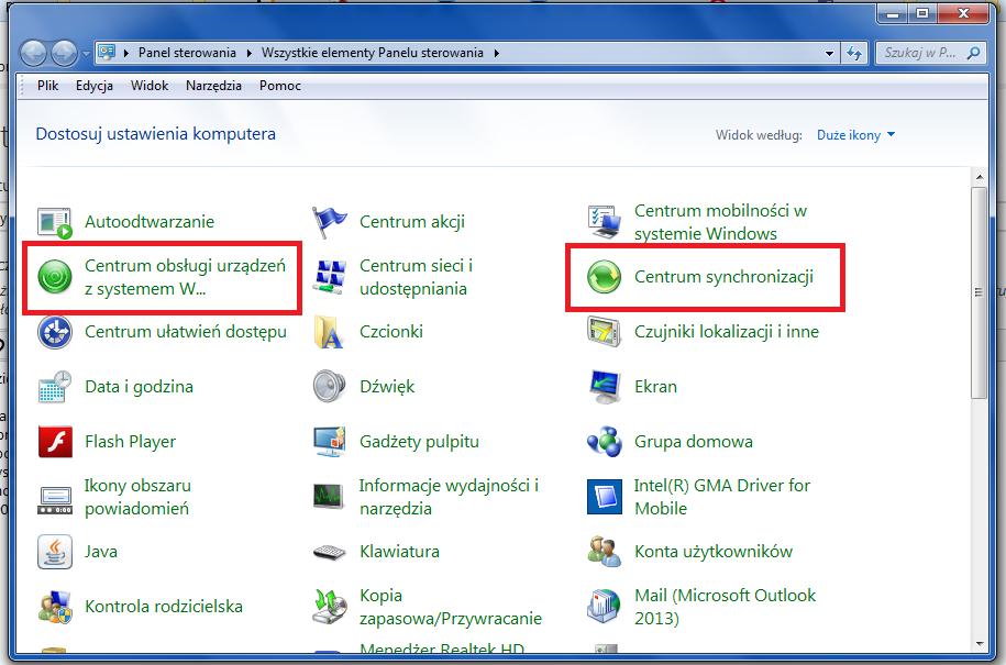 podłączyć telefon z systemem Windows