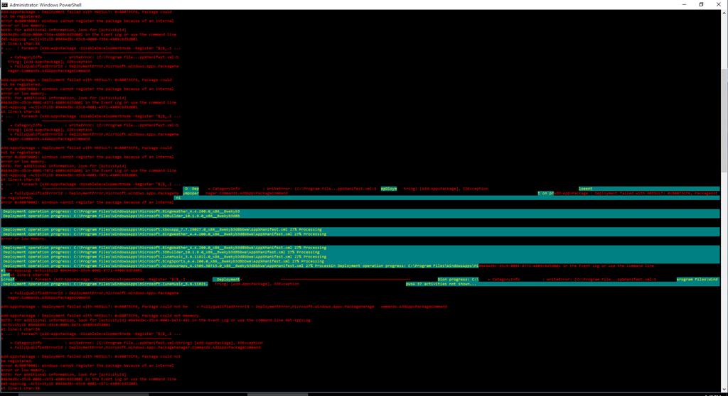 desktop taskbar not responding