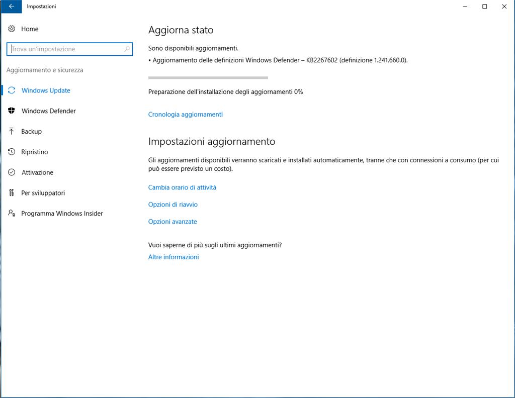 definizioni windows defender