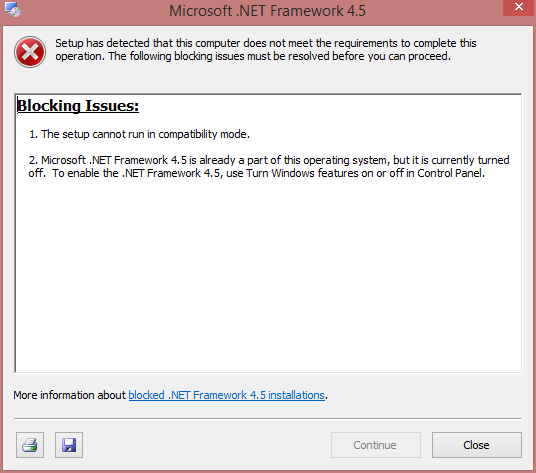Net framework 4.0.30319 not installing in Windows 8.1 - Microsoft ...