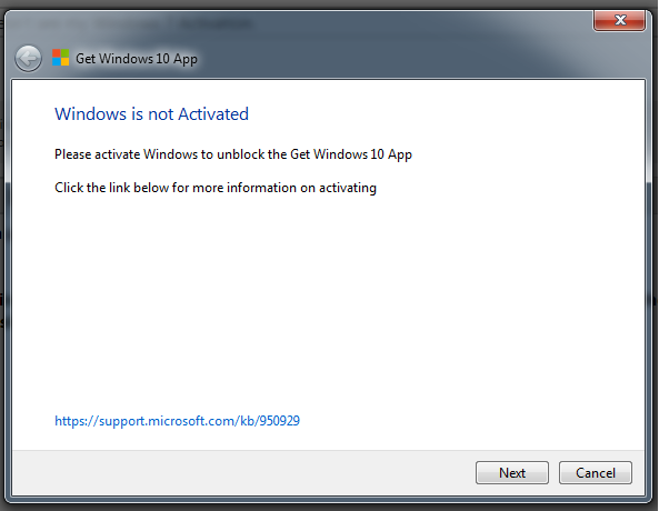 what limitations in win7 not genuine