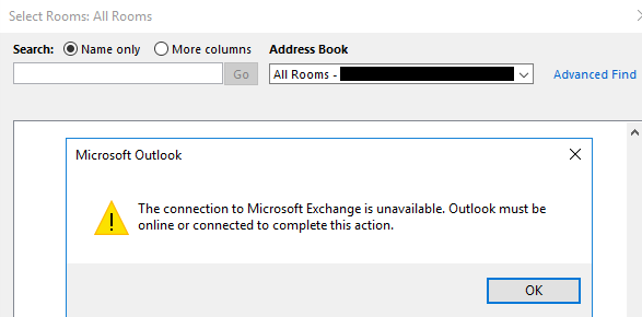 Connectivity Issues to Office 365 Address Lists - Microsoft