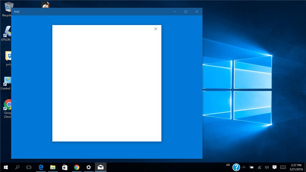 تطبيقات ويندوز 10 لا تفتح Microsoft Community