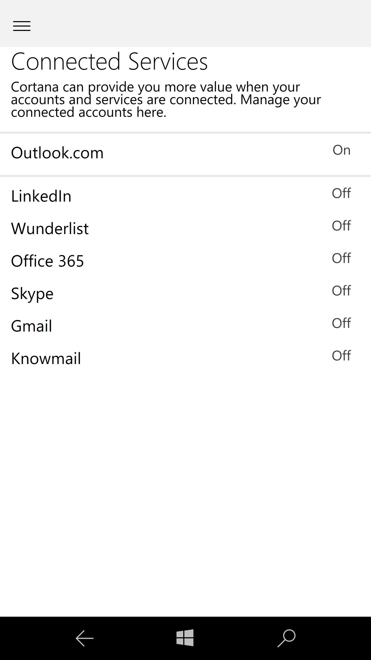 How do I get Wunderlist to disconnect from Cortana? - Microsoft
